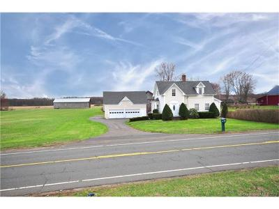 Suffield Single Family Home For Sale: 563 Mountain Road