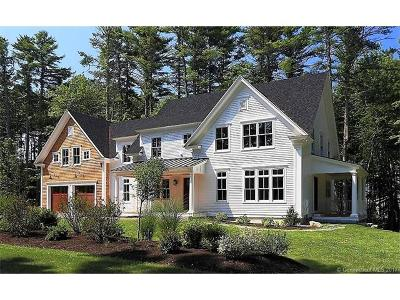 Simsbury Single Family Home For Sale: 70c King Philip Road