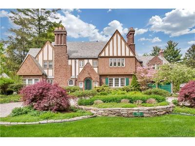 West Hartford Single Family Home For Sale: 1600 Asylum Avenue