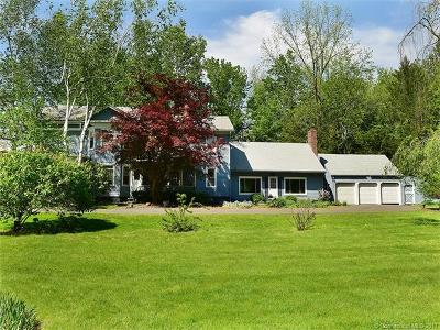 Suffield Single Family Home For Sale: 436 North Main Street North