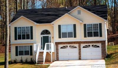 Hebron Single Family Home For Sale: 40 Hillsdale Road