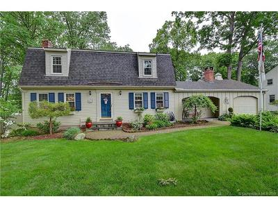 Wethersfield Single Family Home For Sale: 43 Apple Hill