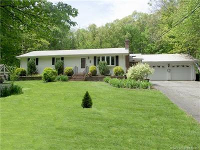 Hebron Single Family Home For Sale: 94 Stone House Road