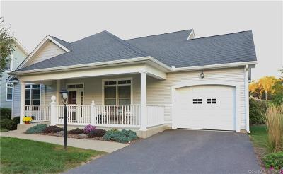 Tolland Condo/Townhouse For Sale: 8 Weigel Valley Drive #8