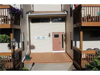Cromwell Condo/Townhouse For Sale: 109 Woodland Drive #109