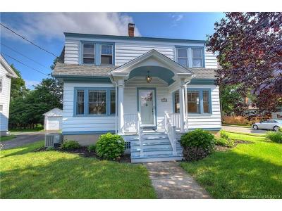 Wethersfield Single Family Home For Sale: 126 Church Street