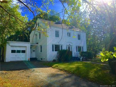 Newington Single Family Home For Sale: 287 Robbins Avenue