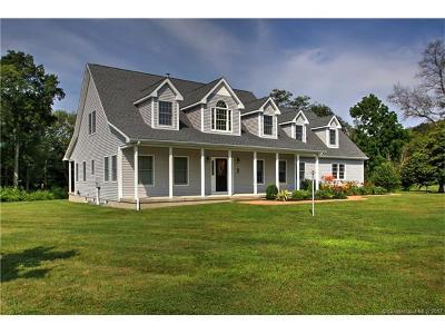 Ellington Single Family Home For Sale: 1 Angel Trace Road