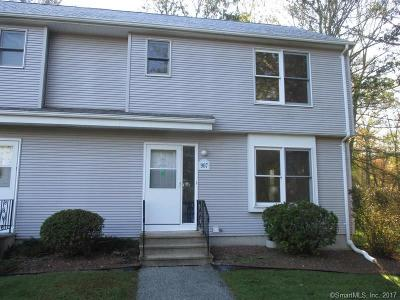 Tolland County, Windham County Condo/Townhouse For Sale: 907 Chaplin Woods Drive #907