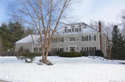 Simsbury Single Family Home For Sale: 5 Whitney Lane