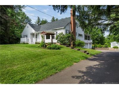 Suffield Single Family Home For Sale: 669 North Street