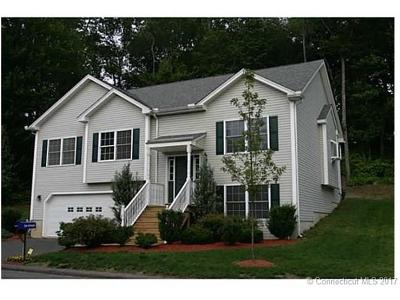 Tolland County, Windham County Condo/Townhouse For Sale: 43 Belvedere Drive #43