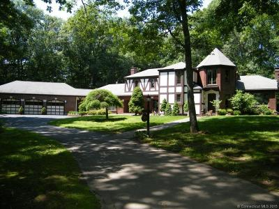 Glastonbury Single Family Home For Sale: 235 Woodhaven Road