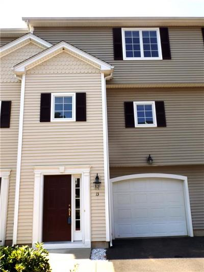 Tolland County, Windham County Condo/Townhouse For Sale: 1158 Hartford Turnpike #13