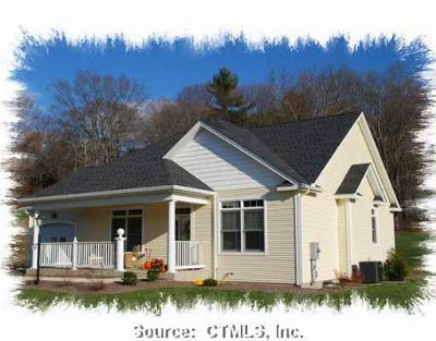 Tolland County, Windham County Condo/Townhouse For Sale: 63 Crystal Springs Drive #63