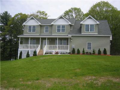 Tolland Single Family Home For Sale: 304 Tolland Stage Road