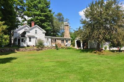Bridgewater Single Family Home For Sale: 392 Old Turnpike Road East