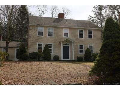 Litchfield Single Family Home For Sale: 11 West Chestnut Hill Road