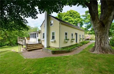 Old Lyme Single Family Home For Sale: 56 Sill Lane