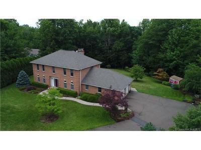 Hamden Single Family Home For Sale: 19 Lancelot Way