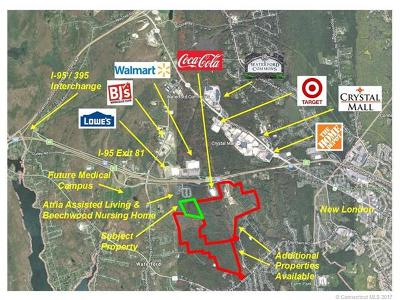 Waterford CT Residential Lots & Land For Sale: $1,600,000