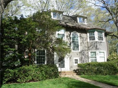 Hamden Single Family Home For Sale: 166 Edgehill Road