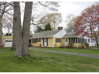 Old Saybrook Single Family Home For Sale: 21 Maplewood Road