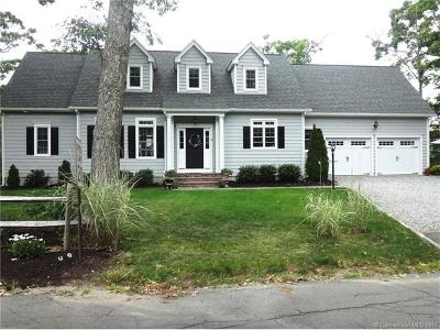 Old Saybrook Single Family Home For Sale: 49 Woodland Drive