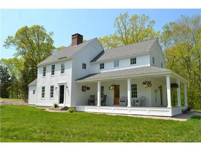 Old Lyme Single Family Home For Sale: 144 Neck Road