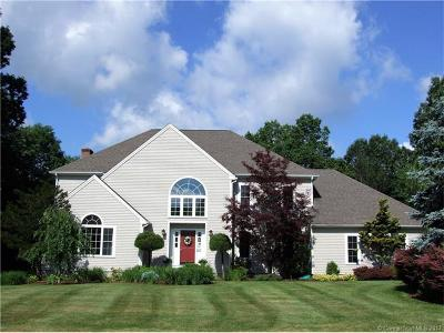 Cheshire Single Family Home For Sale: 607 Tamarack Road