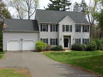 Cheshire Single Family Home For Sale: 246 Mountain Road
