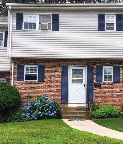 Southington Condo/Townhouse For Sale: 3 Carter Heights #3