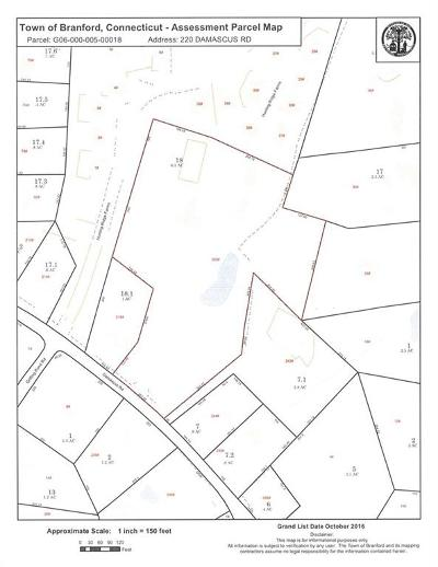 Branford Residential Lots & Land For Sale: 220 Damascus Road