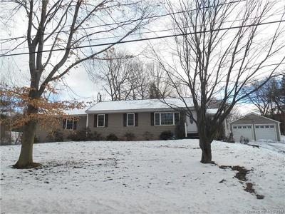 Southington Single Family Home For Sale: 1081 South End Road