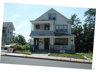 Waterbury Multi Family Home For Sale: 166-168 Wolcott Street