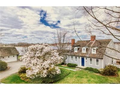 Old Saybrook Single Family Home For Sale: 55 North Cove Road