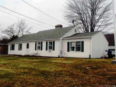 Wolcott Single Family Home For Sale: 45 Wolcott Road