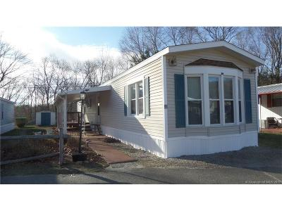 Naugatuck Single Family Home For Sale: 108-91 Clark Road
