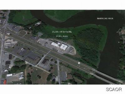 Seaford Commercial For Sale: 24483 Sussex Hwy