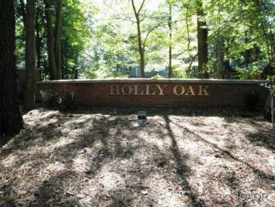 Residential Lots & Land For Sale: Holly Oak Lane