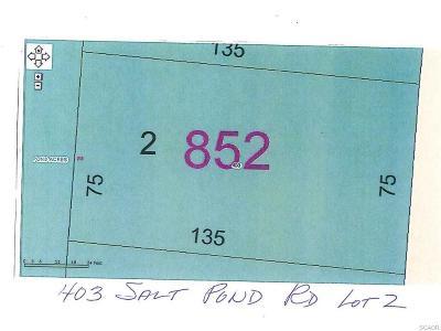 Residential Lots & Land For Sale: 403 Salt Pond Rd