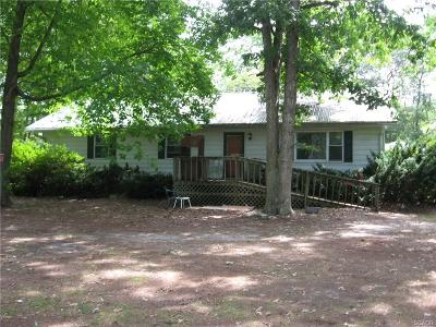Single Family Home For Sale: 20756 Wilson Road