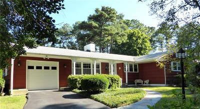 Henlopen Acres, North Shores Single Family Home For Sale: 54 Tidewaters