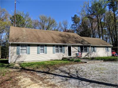 Seaford Single Family Home For Sale: 22321 Hill Road
