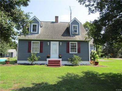 Single Family Home For Sale: 18352 County Seat Hwy