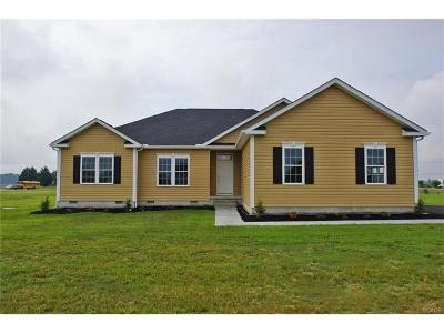 Harrington Single Family Home For Sale: 134 W Lucky Estates Dr