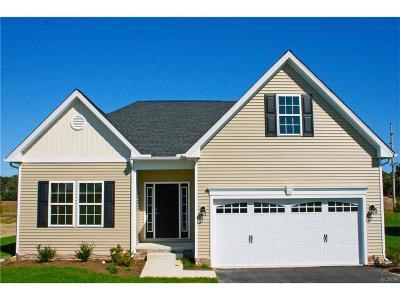 Milton Single Family Home For Sale: 25208 Walking Run #Lot 15
