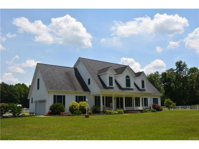 Milton Single Family Home For Sale: 20649 Cool Spring Road