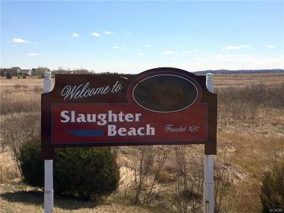 Slaughter Beach Residential Lots & Land For Sale: 478 Bay Ave #46 and 4