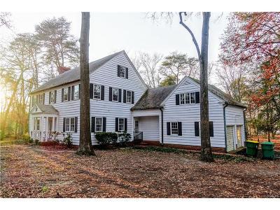 Seaford Single Family Home For Sale: 9601 Cedar Lane